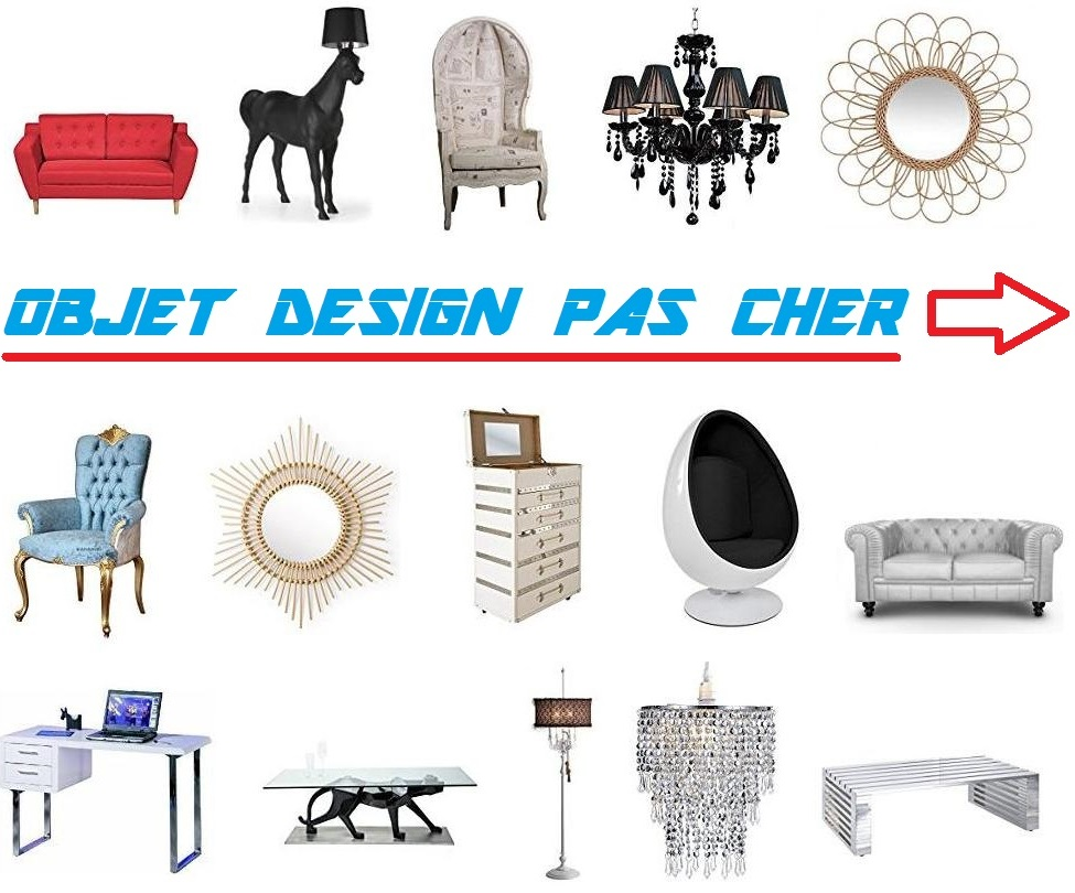 objet design pas cher vente objets design pas cher