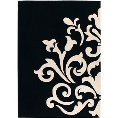 Tapis design pas cher tapis salon contemporain meubles de luxe images pho - Tapis graphique noir et blanc ...